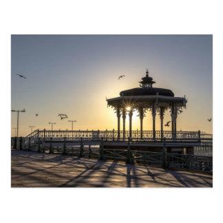 Victorian Bandstand, Brighton Postcard