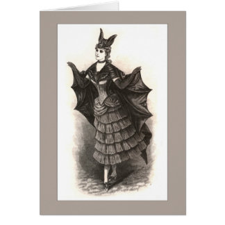 Victorian Bat - Card #1 (Customize)