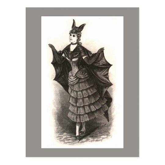 Victorian Bat - Postcard #1