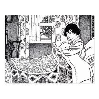 Victorian Bedtime Postcard