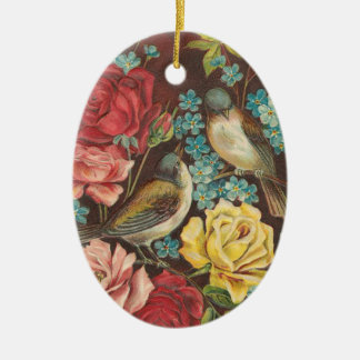 Victorian Bird Christmas Ornament