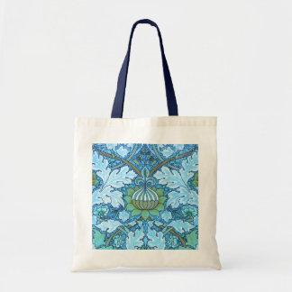 Victorian Blue Tote Bag