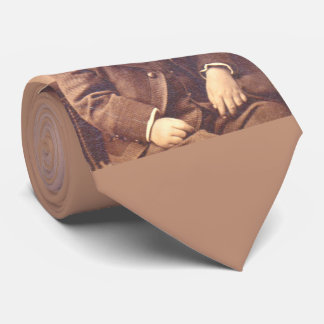 Victorian boy with unfortunate hair style tie