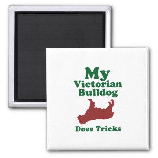 Victorian Bulldog Refrigerator Magnets