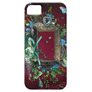 Victorian Burgundy Mist Lavender Wisteria frame iPhone 5 Covers