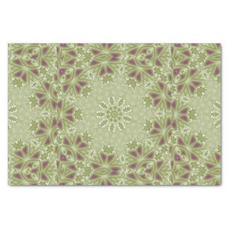 "Victorian Celadon Green Grape Vine Tissue Paper 10"" X 15"" Tissue Paper"