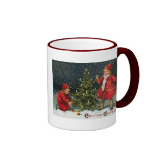 Victorian Children Christmas Mug