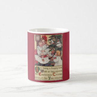 Victorian Children Vintage Christmas Mug