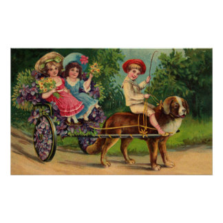 Victorian Children's Parade Poster