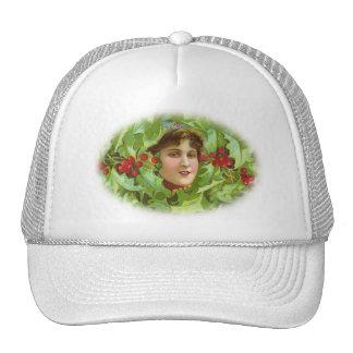 Victorian Christmas Cap