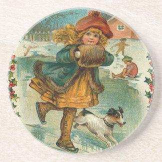 Victorian Christmas Coaster