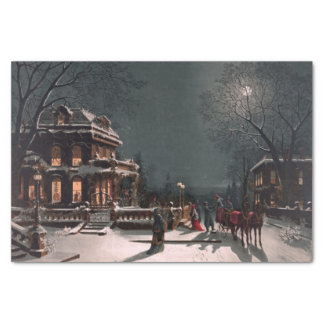 Victorian Christmas Eve Tissue Paper