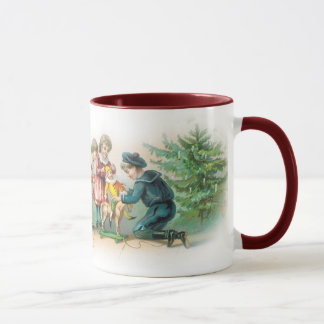 Victorian Christmas Mug