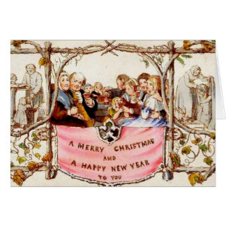 Victorian Christmas Note Card