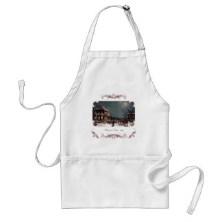 Victorian Christmas Party Apron