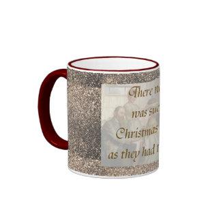 Victorian Christmas Ringer Mug