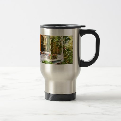Victorian - Come stay with us Stainless Steel Travel Mug
