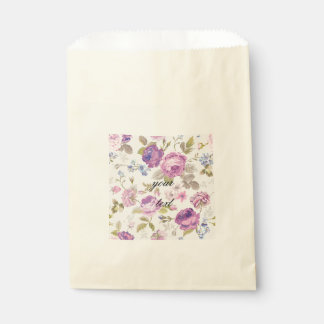 Victorian,country,lavender,shabby,chic,roses,paris Favour Bags