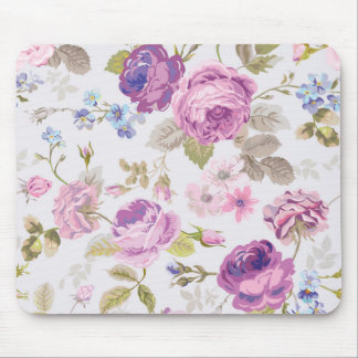 Victorian,country,lavender,shabby,chic,roses,paris Mouse Pad