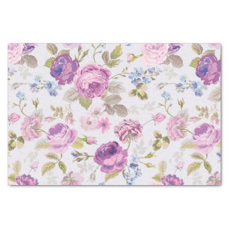 Victorian,country,lavender,shabby,chic,roses,paris Tissue Paper