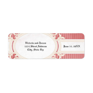 Victorian Damask - Address Label