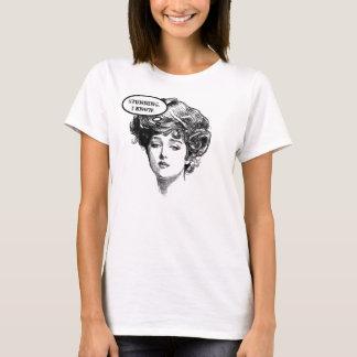Victorian Diva Humor T-Shirt