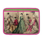 Victorian Dress With Pink Bow Sleeve For MacBook Air