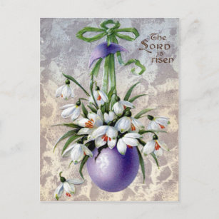 Victorian easter gifts gift ideas zazzle uk victorian easter christmas postcard negle Choice Image