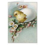 Victorian Easter Ephemera Greeting Card