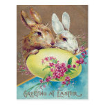 Victorian Easter Postcard