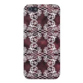 Victorian Elegant Garnet & Lace Speck Case iPhone4 iPhone 5/5S Cases