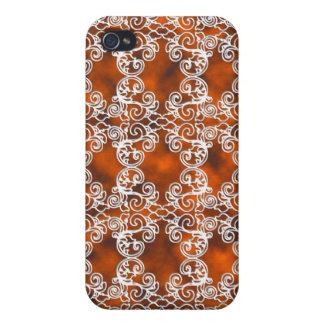Victorian Elegant Topaz & Lace Speck Case iPhone4 iPhone 4 Cover
