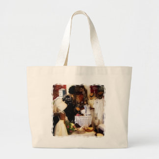 VICTORIAN ENGLAND LARGE TOTE BAG