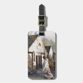VICTORIAN ENGLAND LUGGAGE TAG