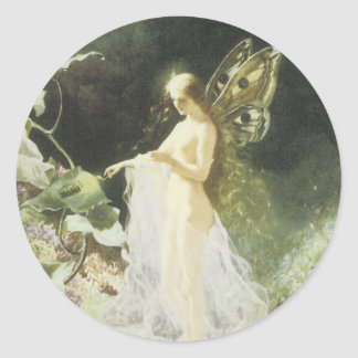 Victorian Faerie Sticker