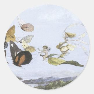 Victorian Faerie Sticker - Butterflies