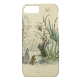 Victorian Fantasy Flowers - Narcissus iPhone 7 Case