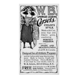 Victorian Fashion Advertisement - Archival Print