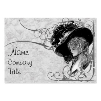 Victorian Fashion Large Business Cards (Pack Of 100)