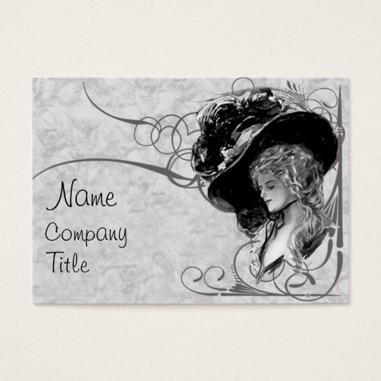 Victorian Fashion Business Card