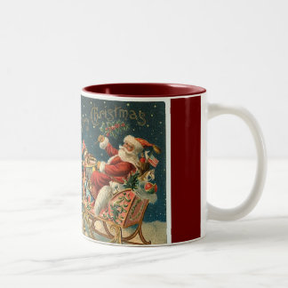 Victorian Father Christmas Coffee Mug