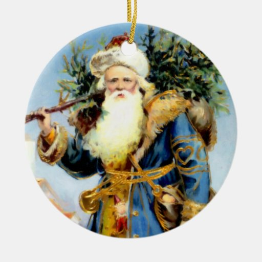 Victorian Father Christmas Decorations