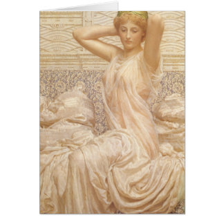 Victorian Fine Art, Silver by Albert Joseph Moore Card