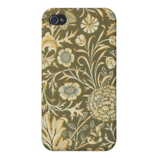 Victorian Floral Paisley Olive Speck Case iPhone4 Case For iPhone 4