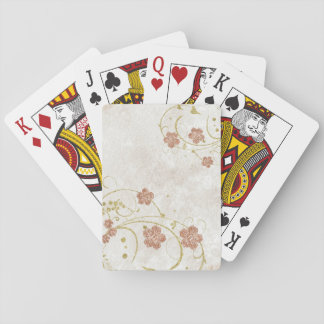 Victorian Floral Playing Cards
