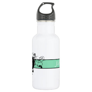 Victorian Flourish Monogrammed 532 Ml Water Bottle