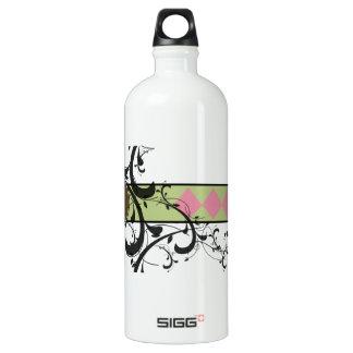 Victorian Flourish Monogrammed Water Bottle