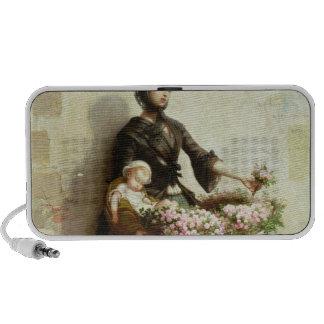 Victorian Flower Seller PC Speakers