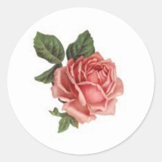 Victorian Flower Stickers 2