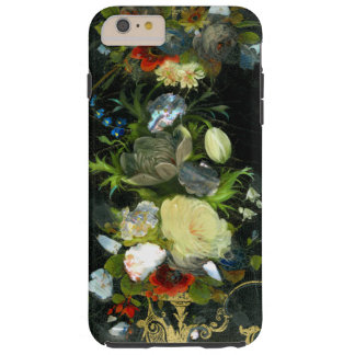 Victorian Flowers Inlaid Mother Of Pearl Tough iPhone 6 Plus Case